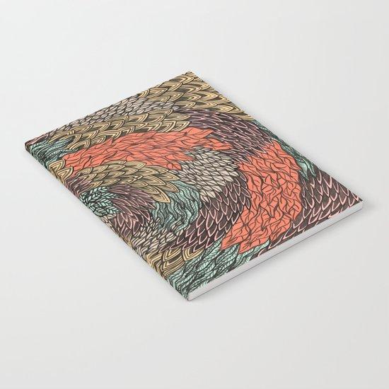 Ink Pattern no.2 Notebook