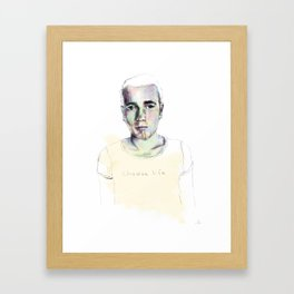 renton. Framed Art Print
