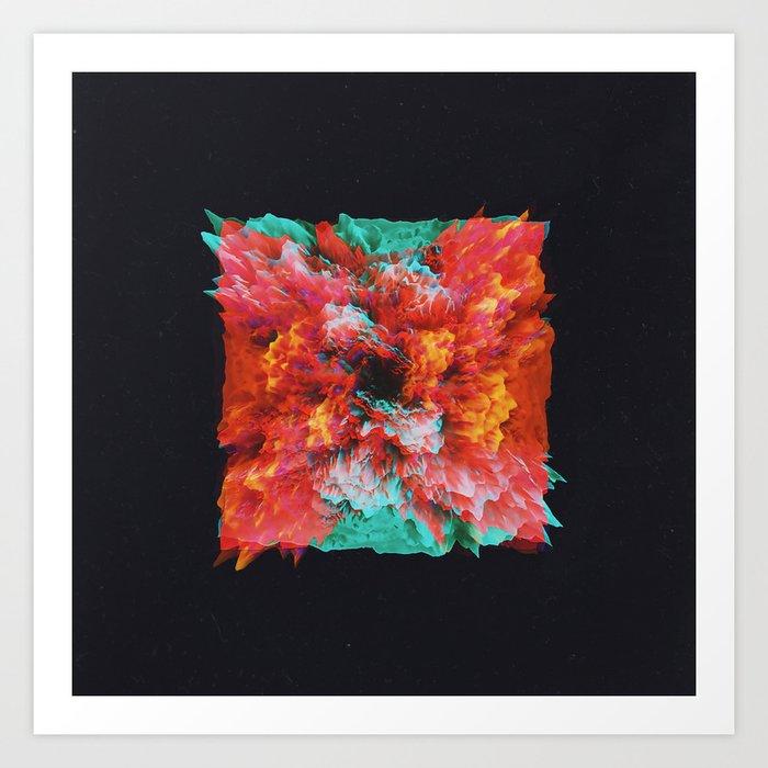 Plasma Art Print