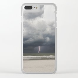 Storm at Sea Clear iPhone Case