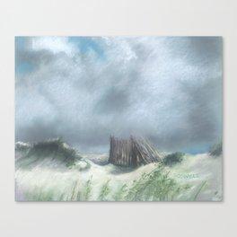 Fenceline Canvas Print