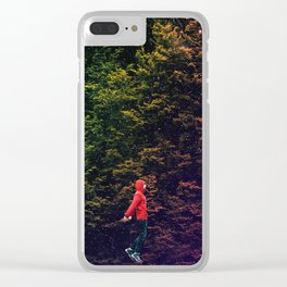 I know this shortcut through the stars Clear iPhone Case