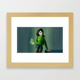 Real Life Shego Framed Art Print