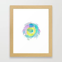 abstract watercolor 8 Framed Art Print