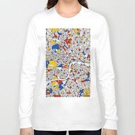 London Mondrian Long Sleeve T-shirt