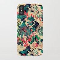 jungle iPhone & iPod Cases featuring Jungle by Demi Goutte
