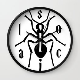 antisocial ant Wall Clock