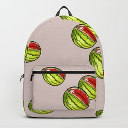Three in a melon Backpack
