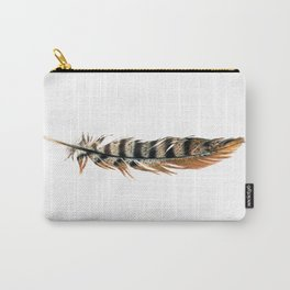 Pheasant Feather Carry-All Pouch