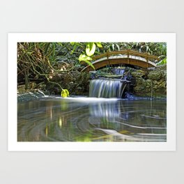 River of Eternity Art Print