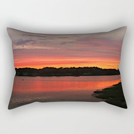 New England Sunset Rectangular Pillow