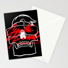 A Space Love Adventure - SYNTH PUNK Stationery Cards