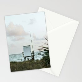Lifeguard Stand Vertical Stationery Cards