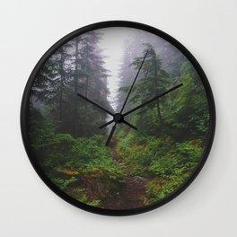 Snoqualmie Pass - Pacific Crest Trail, Washington Wall Clock