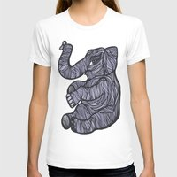 baby elephant T-shirts featuring Baby Elephant by Kate Shea