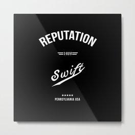 swift reputation Metal Print