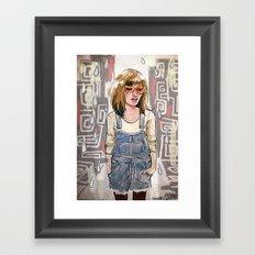 Take a walk Framed Art Print