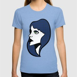 Pop Art Nico - Blue T-shirt
