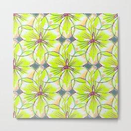 Flower Sketch 1 Metal Print