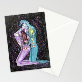 Love is a Vortex - Chakra Spiritual Kundalini Yoga Sex Stationery Cards
