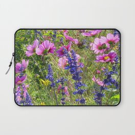 Pink and Purple Laptop Sleeve