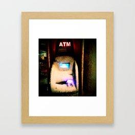 ATM Gangster Framed Art Print