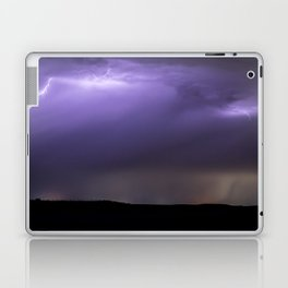 Summer Lightning Storm On The Prairie XIII - Nature Landscape Laptop & iPad Skin