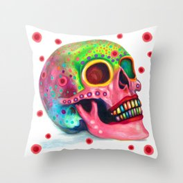Party In My Mind ~Variation Throw Pillow