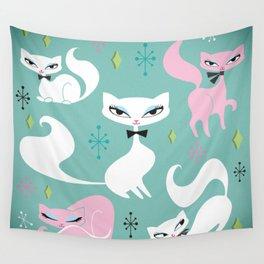 Swanky Kittens Wall Tapestry