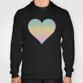 Pastel Rainbow Ombre Gradient Hoody