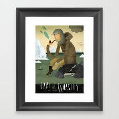 Frank Worsley Framed Art Print