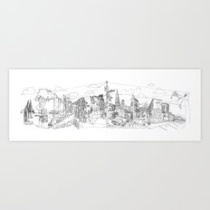 San Francisco! (Landscape) Art Print