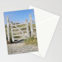 Llanddwyn gate landscape Stationery Cards