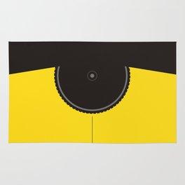 Yellow Jersey Bicycle Rug