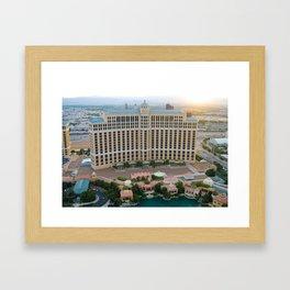 Bellagio Las Vegas Framed Art Print