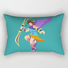 Pit(Smash)Cyan Rectangular Pillow