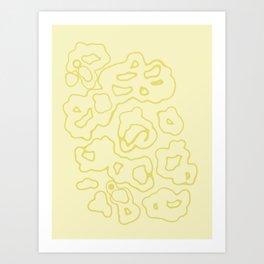 """Doray"" - (beige) Art Print"