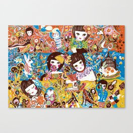 Colorful days Canvas Print