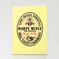 marty mcfly Stationery Cards featuring Marty McFly by SuperEdu