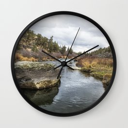Deschutes River at Eagle Crest Wall Clock