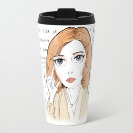 scully is sick of your BS Travel Mug