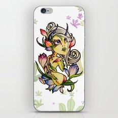 Dark Tulip Fairy iPhone & iPod Skin