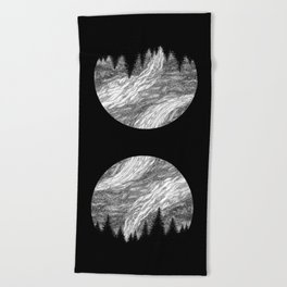 SPACE II Beach Towel