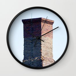 Watercolor Architecture, The Stack 01, Janes Island, Maryland Wall Clock