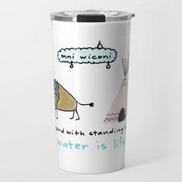 water is life. Travel Mug