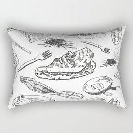 Oh My Omelets Rectangular Pillow