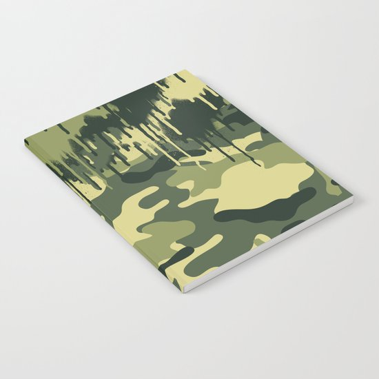 CAMOUFLAGE V Notebook