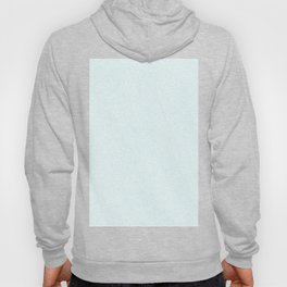 Melange - White and Light Cyan Hoody