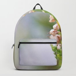 Pink heather Backpack