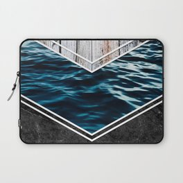 Striped Materials of Nature IV Laptop Sleeve